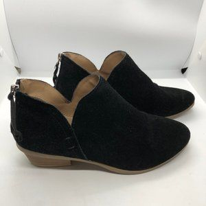 Kenneth Cole Reaction black suede booties - 7.5